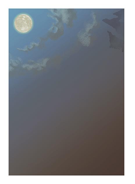 牙狼-年賀ハガキ2016-背景