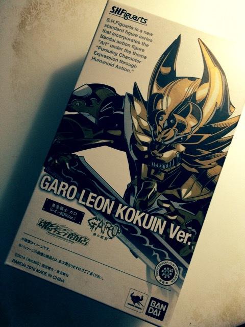 牙狼 GARO -炎の刻印- S.H.Figuarts 黄金騎士 ガロ(レオン 刻印Ver.)