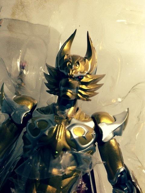 牙狼 GARO -炎の刻印- S.H.Figuarts 黄金騎士 ガロ(レオン 刻印Ver.)3
