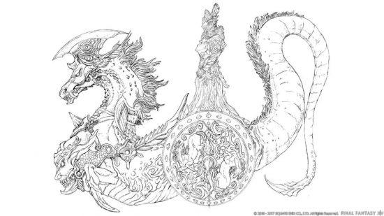 人馬王ロフォカレ:側面図