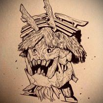 「牙狼-魔戒ノ花-」デリィータス。